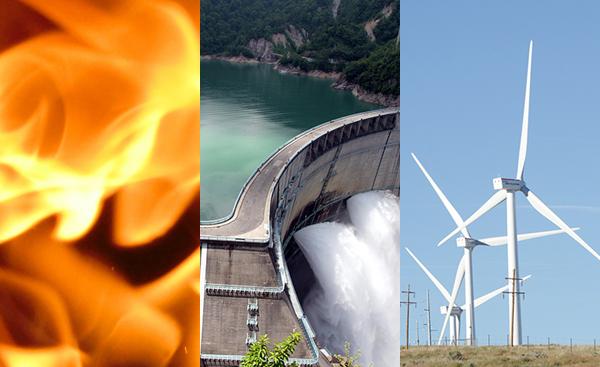 様々な発電方法