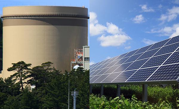 太陽光発電は原子力発電の代わりになり得るか?